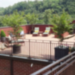 James River Place Condominiums Rooftop Patio