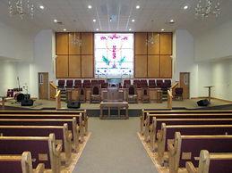 Riceville Baptist Chuch Interior