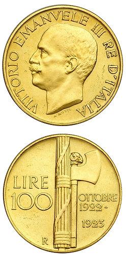 100 Lire Fascione 1923