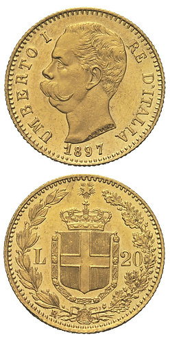 20 Lire 1897