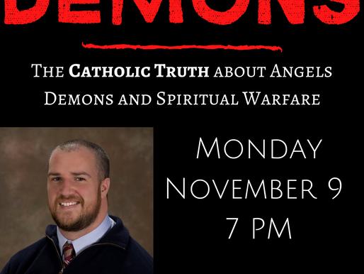 Reminder:  DEMONS Monday night!