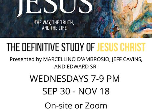The Definitive Study of Jesus Christ