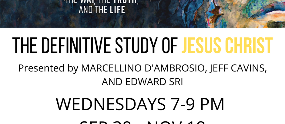 The Definitive Study of Jesus Christ