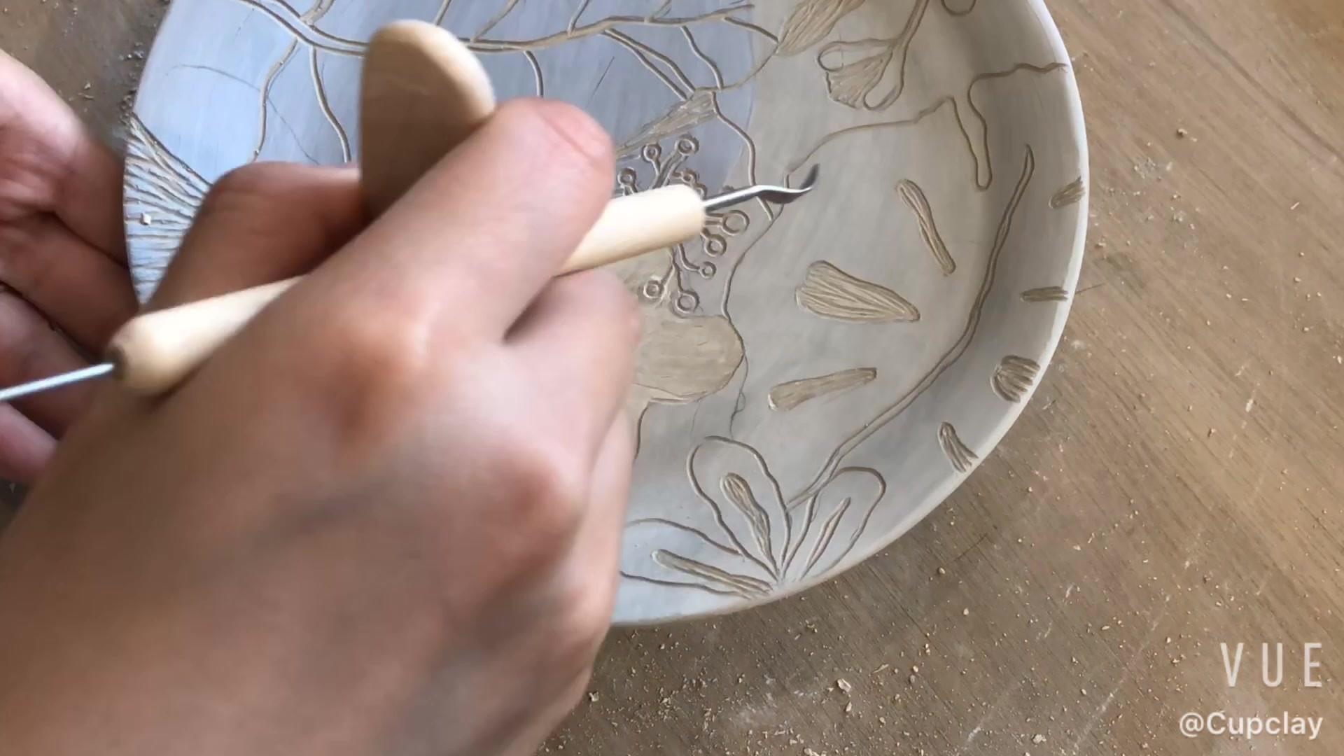 Sgraffito-plate.MOV