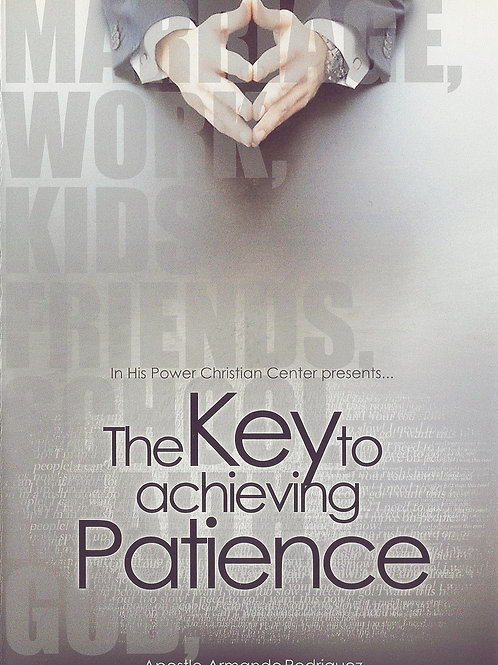 The key to achieving patience