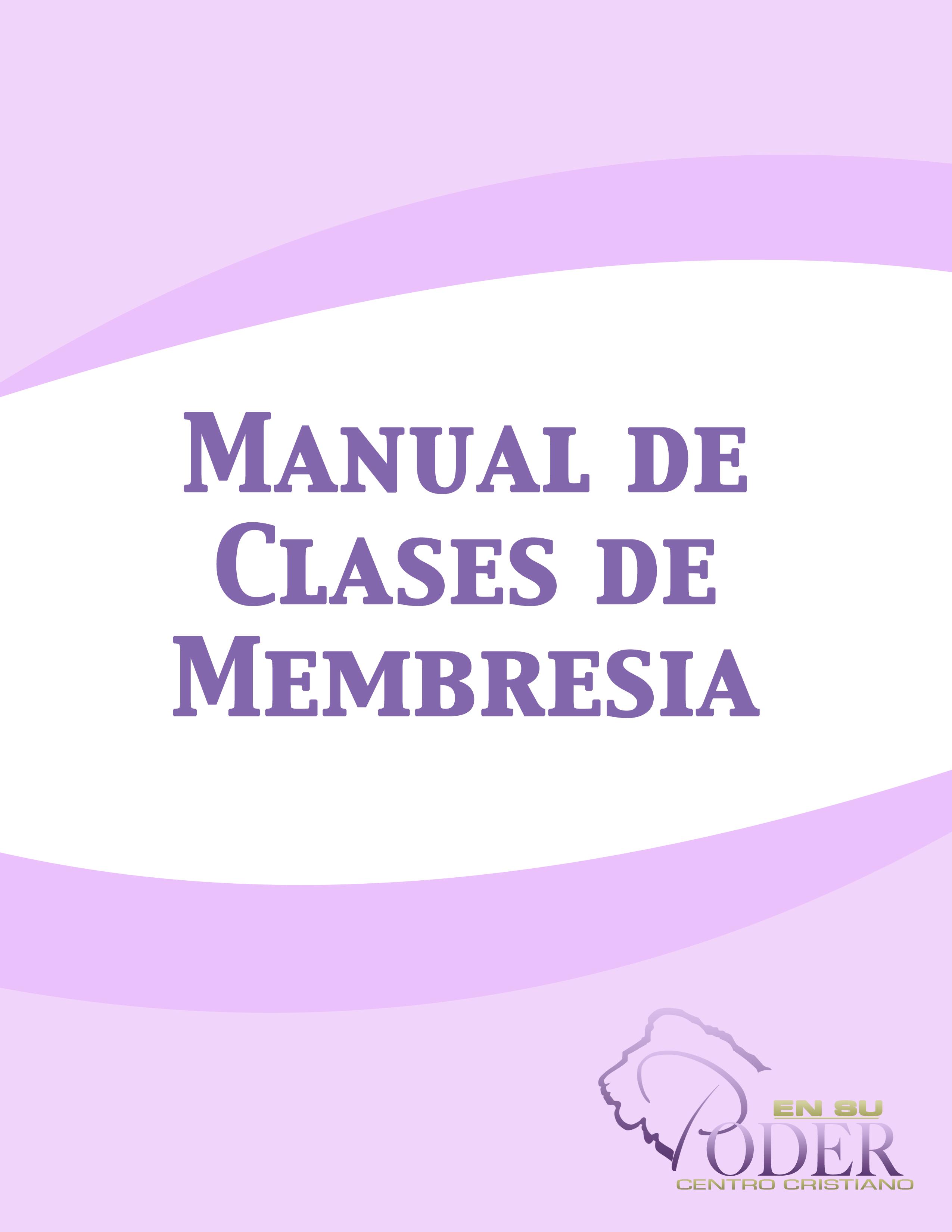 manual de clases de membresia 2