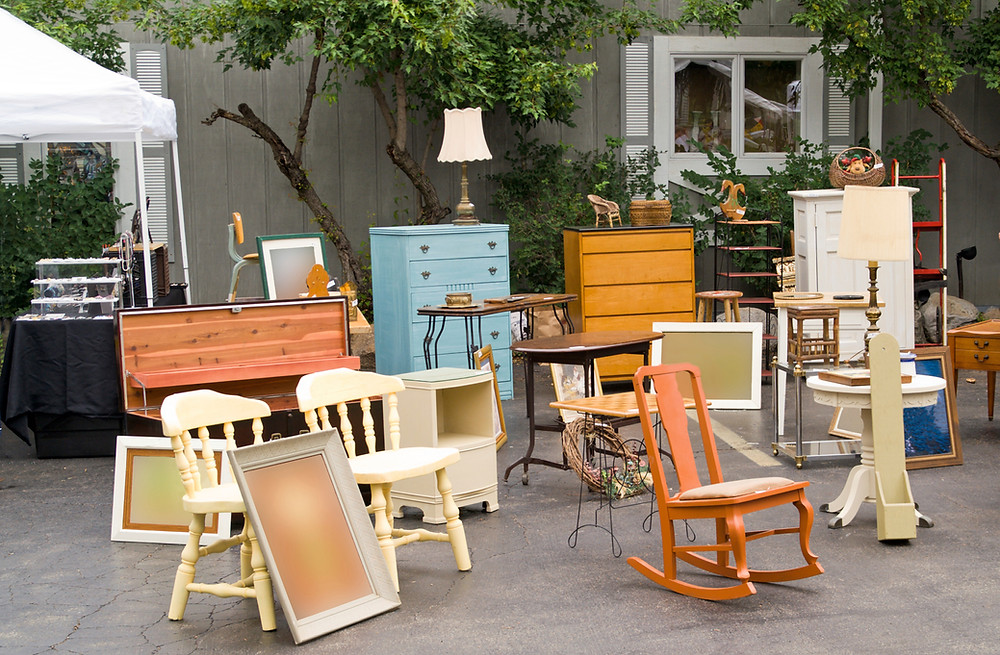 Donate your old furniture to help families transitioning from homelessness.