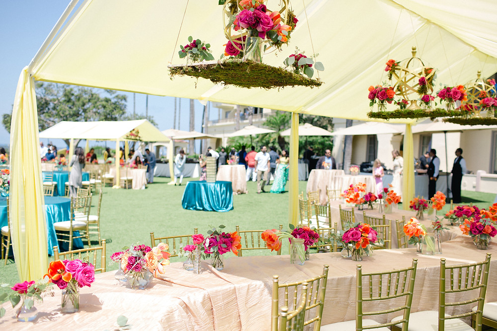 Ceiling treatments create a jaw dropping, eye catching decor for any event. They are versatily allowing you to budget for your wedding appropriately.