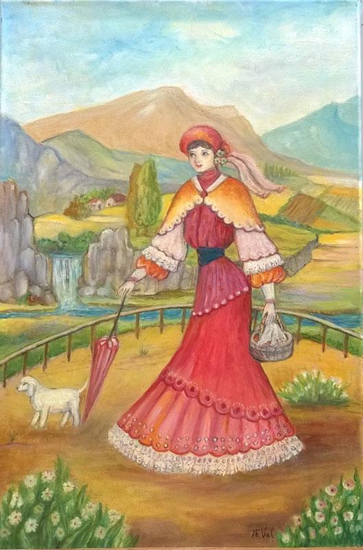 La Dama en las Cataratas