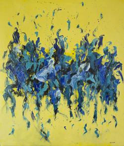 Tridimensión azul