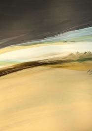 Alta Meseta del desierto -  Acrílico sobre tela - 100 x 120 -2015.