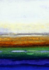 Ciénaga 1 -Técnica mixta sobre tela - 80 x 120 cm – 2007.