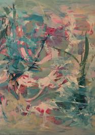 Selva - Técnica mixta sobre tela - 80 x 100 cm.