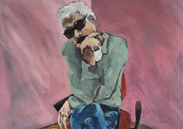 El psicoanalista - Acrílico sobre tela – 100 x 120 cm - 2019.