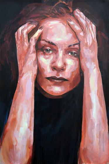Isabelle - Acrílico sobre tela - 100 x 150 cm - 2014.