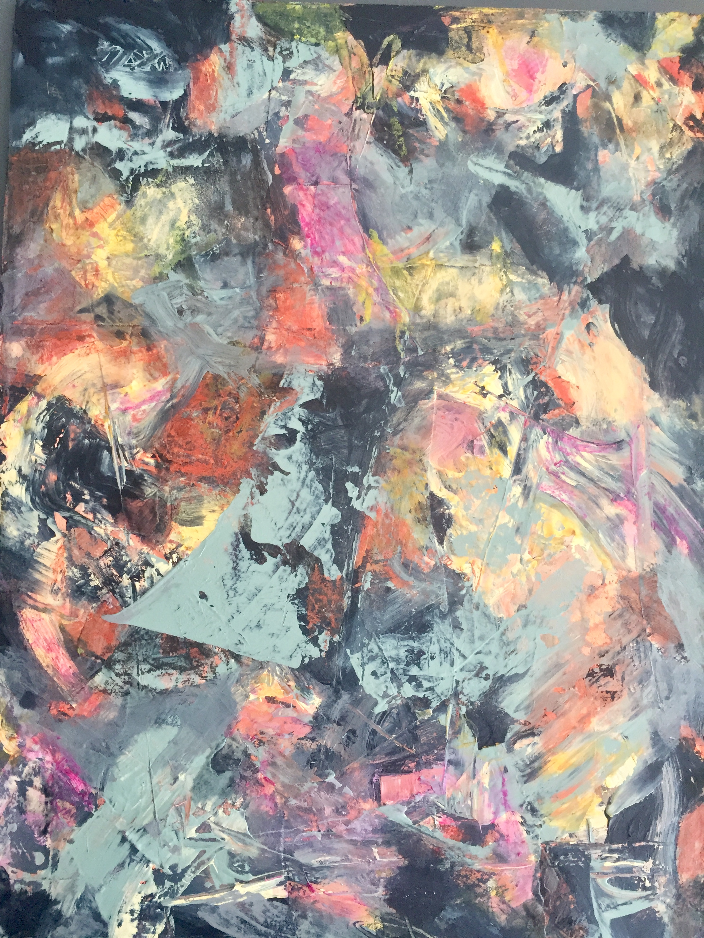 Kunst- Técnica mixta sobre madera- 37 x 27 cm.-2018