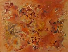 Obra Abstracta. Pintura. Earth. 80x100.