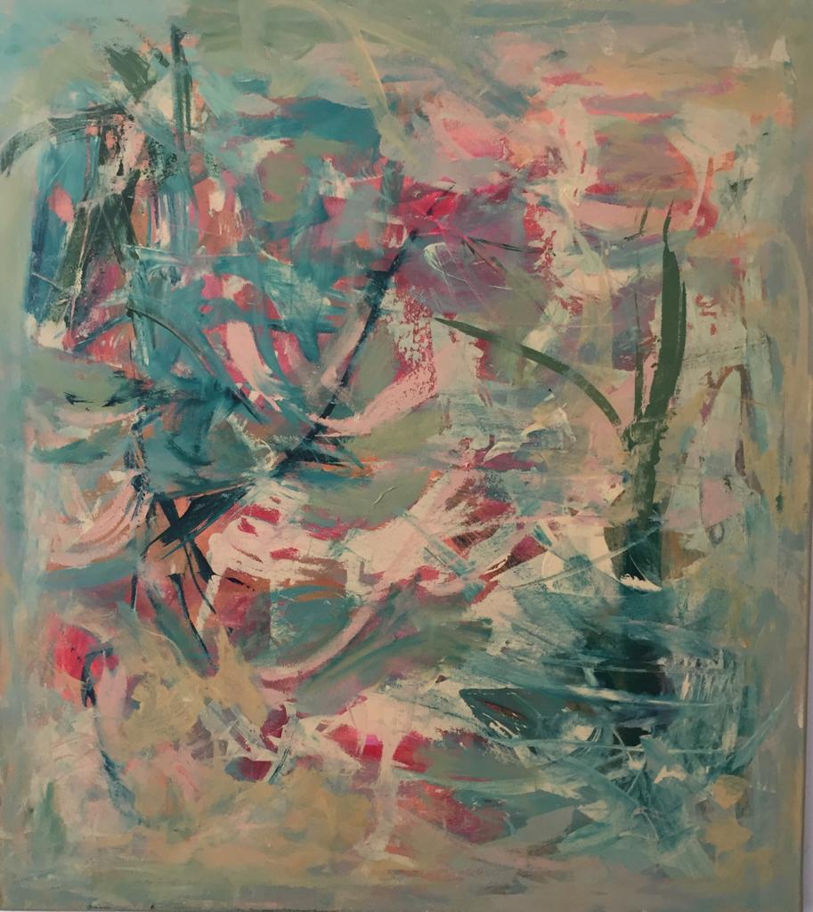 Selva- Pintura sobre tela- 80 x 100 cm.- 2020.
