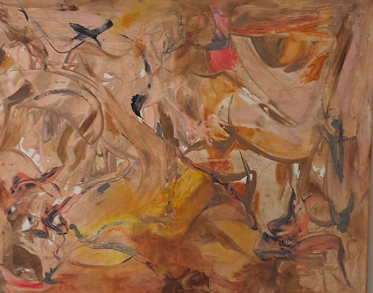 Kunst 2- Pintura sobre tela- 80 x 100 cm.- 2020.