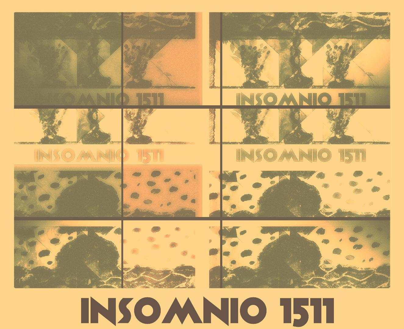 INSOMNIO 1511- Técnica digital impreso sobre papel- Copia única tamaño a elección.-2020.