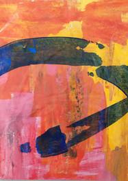 S/T - Acrílico sobre cartón - 46 x 70 cm – 2000.