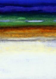 Ciénaga 2-Técnica mixta sobre tela - 80 x 120 cm – 2007.