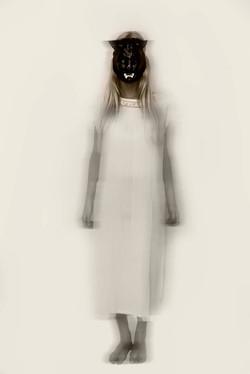 """""""Delfina con máscara I"""""""