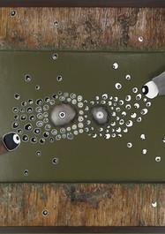 Inclusión - Acrílico sobre madera - 101 x 81 cm. - 2019.