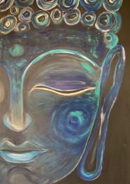 Azul profundo - Acrílico sobre tela - 80 x 120 cm - 2020.