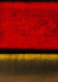 Buscando a Rothko -  Técnica mixta - 60 x 50 cm - 2019.