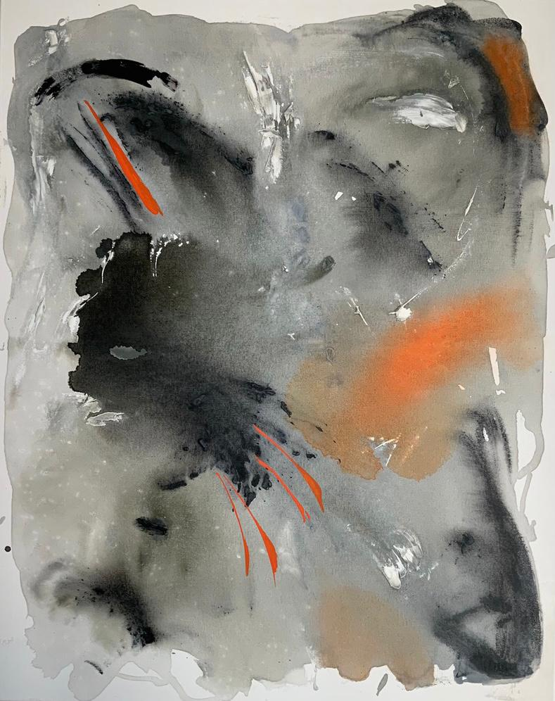 La vie en grey Acrilico 80 x 100 cm