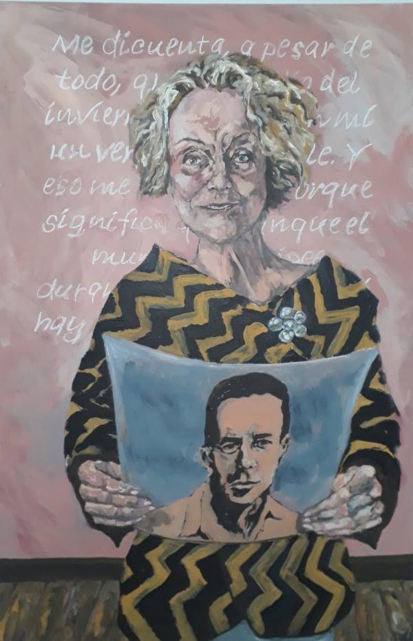 Marilu Marini leyendo Albert Camus
