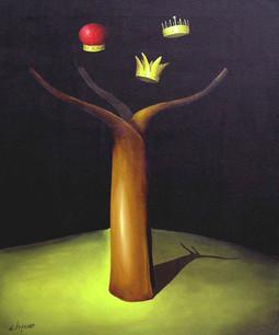 Árbol Real - Acrílico sobre tela - 60 x 50 cm - 2008.