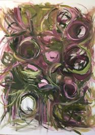 Más Allá- Pintura sobre tela- 80 x 100 cm