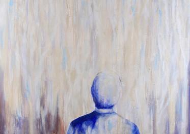 La pregunta que retorna - Acrílico sobre tela  - 150 x 100 cm - 2015.