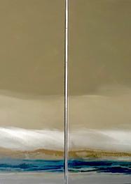 Cielo Nublado  - Acrílico sobre tela - 100 x 120 cm - 2015.