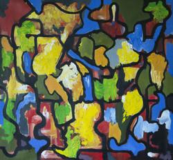 Abstracto. mosaico de color