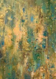 Green Bamboo - Acrilico sobre tela - 80 x 100 cm. 2020.