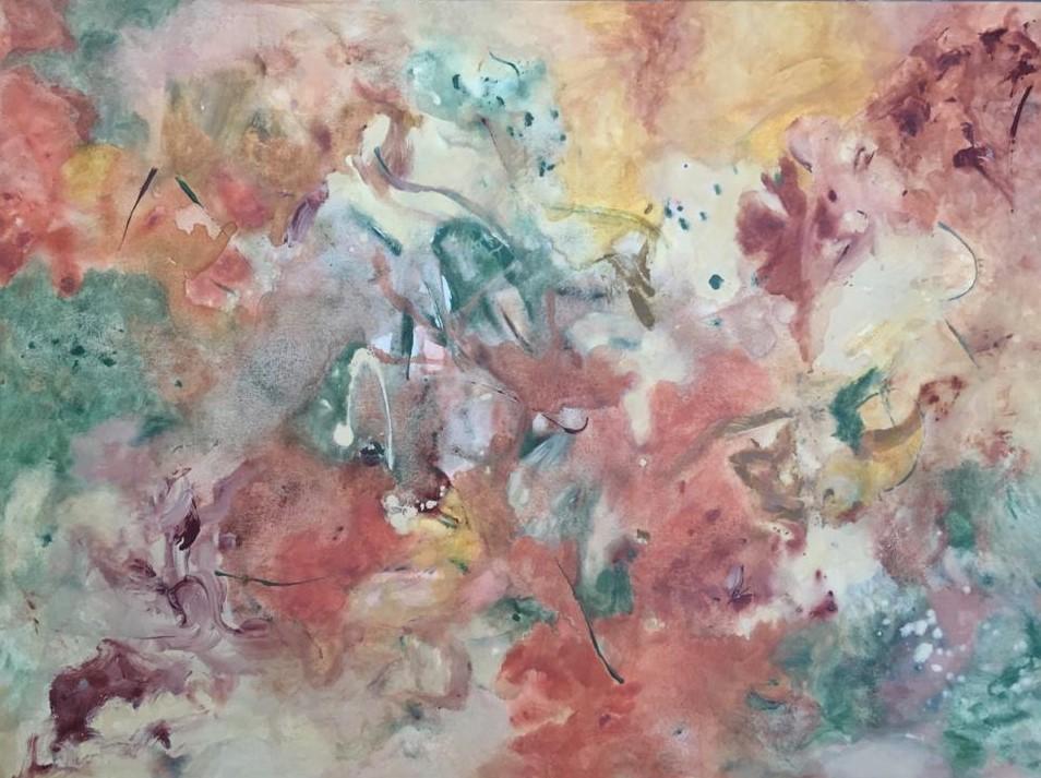 Rupestre- Pintura sobre tela- 80 x 110 cm.- 2019.