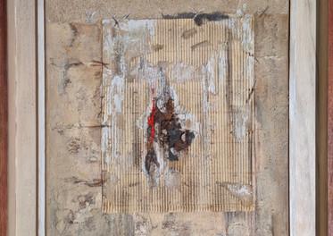 S/T -  Técnica mixta mixta sobre tela - 60 x 40 cm - 2010.