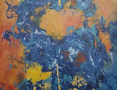 Abstracto-de-fondo-naranja-1.-Acrílico-s