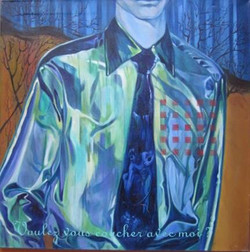 Alejandro Ongay 1999 Acrilico 100 x 100.
