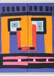 Bartolo - Acrilico sobre tela - 100 x 100 cm. - 2020.