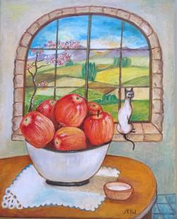 Las Manzanas en la Comedor