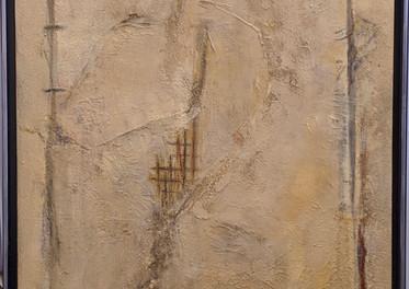 S/T - Ténica mixta sobre tabla - 89 x 43 cm. 2019.