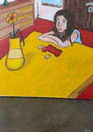 Laura- Acrílico sobre tela -80 x 100 cm - 2020.