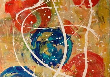 Small Shapes of art - Acrílico sobre tela - 50 x 60 cm - 2021