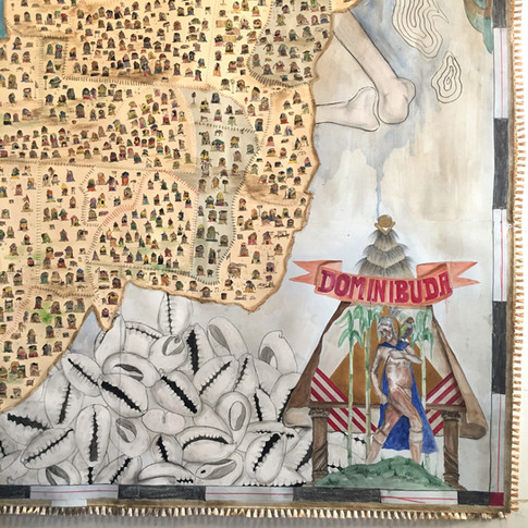 Bundlehouse: Borderlines No.5 (Isle of Dominibuda) detail