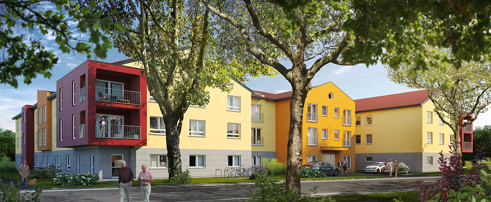 Pflegeappartements-Seniorenresidenz-Neun