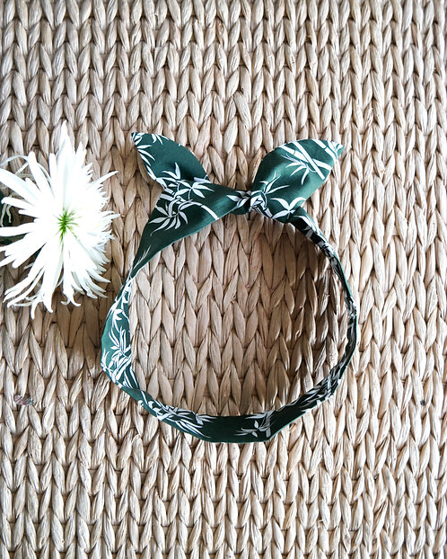 Headband bohème bambou